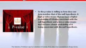 Learn Statistics: The Correct Definition of the p-value