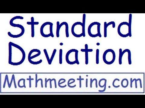 Standard Deviation – Statistics